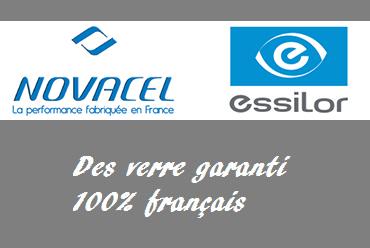 Côté vision, du verre 100% français!